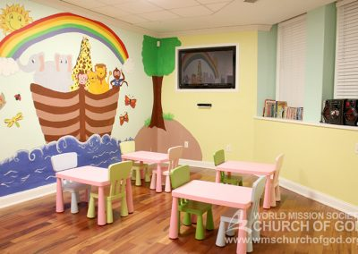 World Mission Society Church of God  in Washington, D.C. Children's Room