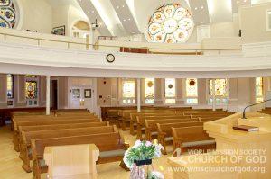 World Mission Society Church of God, WMSCOG, Washington, DC, D.C., Capitol Hill, Worship, Sanctuary, Interior, Altar