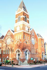 World Mission Society Church of God, WMSCOG, Washington, DC, D.C., Capitol Hill, Historic, Architecture, Landmark, Entrance, Front, Exterior